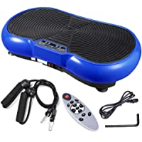 Yescom 3500W Vibration Plate Crazy Fit Massage Exercise Machine Oscillating Platform Blue