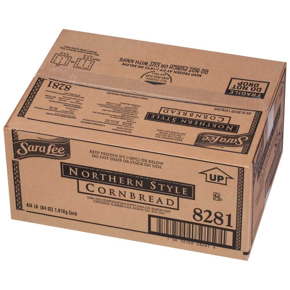 Sara Lee Chef Pierre Pre Cut Northern Style Cornbread, 12 x 16 inch - 4 per case. by Sara Lee (Image #5)