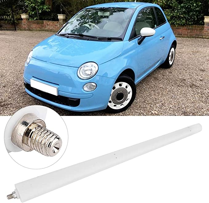 Antena universal for automóvil - Reemplazo de accesorio de modificación automática de antena for automóvil for terapia de color Fiat 500