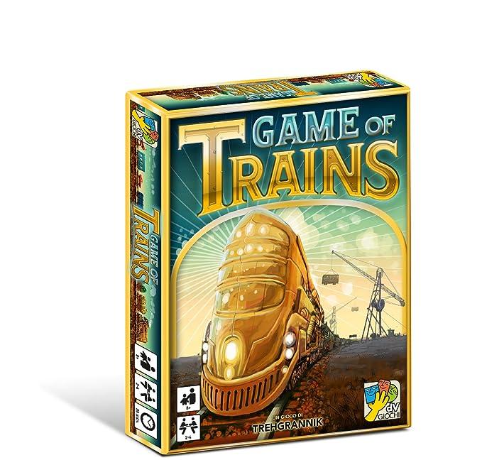 dV Giochi dvg9326 – Juegos de Mesa Game of Trains, edición ...