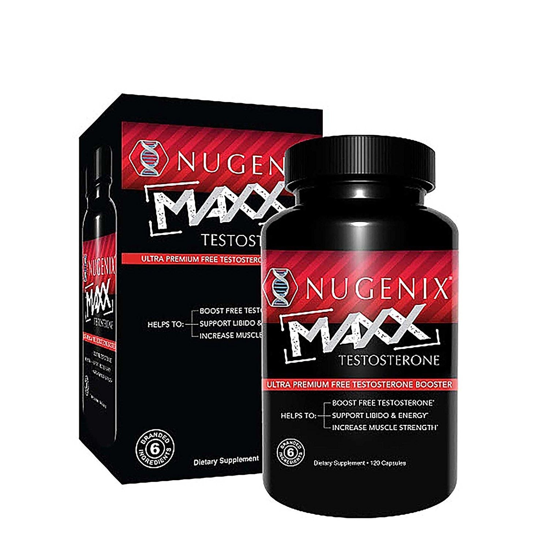 Nugenix Maxx Testosterone - Ultra Premium, Hardcore Men's Testosterone  Booster, Clinically Validated - 120...
