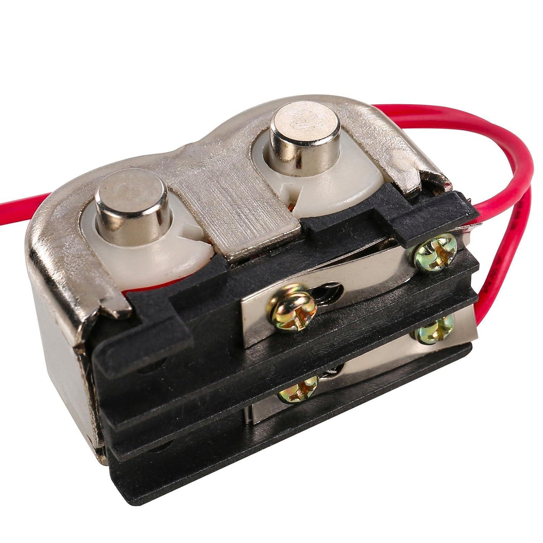 UHPPOTE Alambre de 1073 Cobre Estañ ado de la Bobina Universal para Reemplazo Elé ctrico de los Carretes de la Cerradura 12VDC UT-XQ02