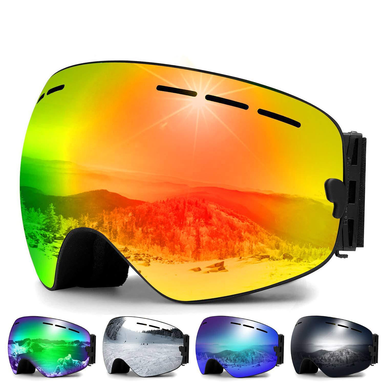 d554005063d Amazon.com   Zerhunt Ski Goggles
