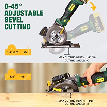 POPOMAN Cordless Circular Saw - MTW510B featured image 4