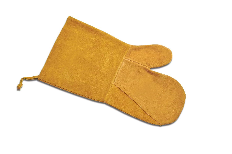 Suede Oven Mitt - Mustard