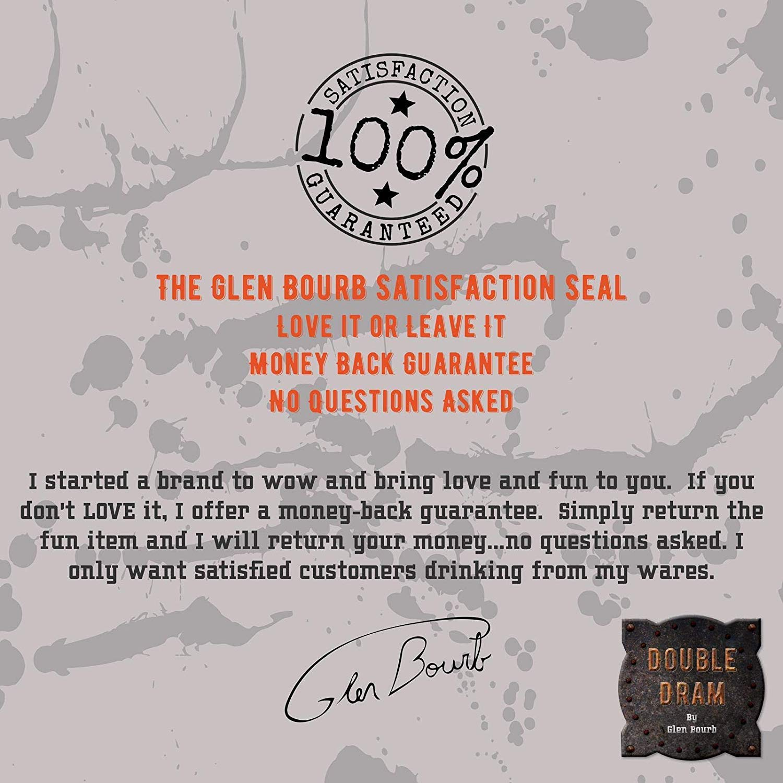 Juego de 3 vasos de whisky de cristal de alta calidad (6-11.8oz ...
