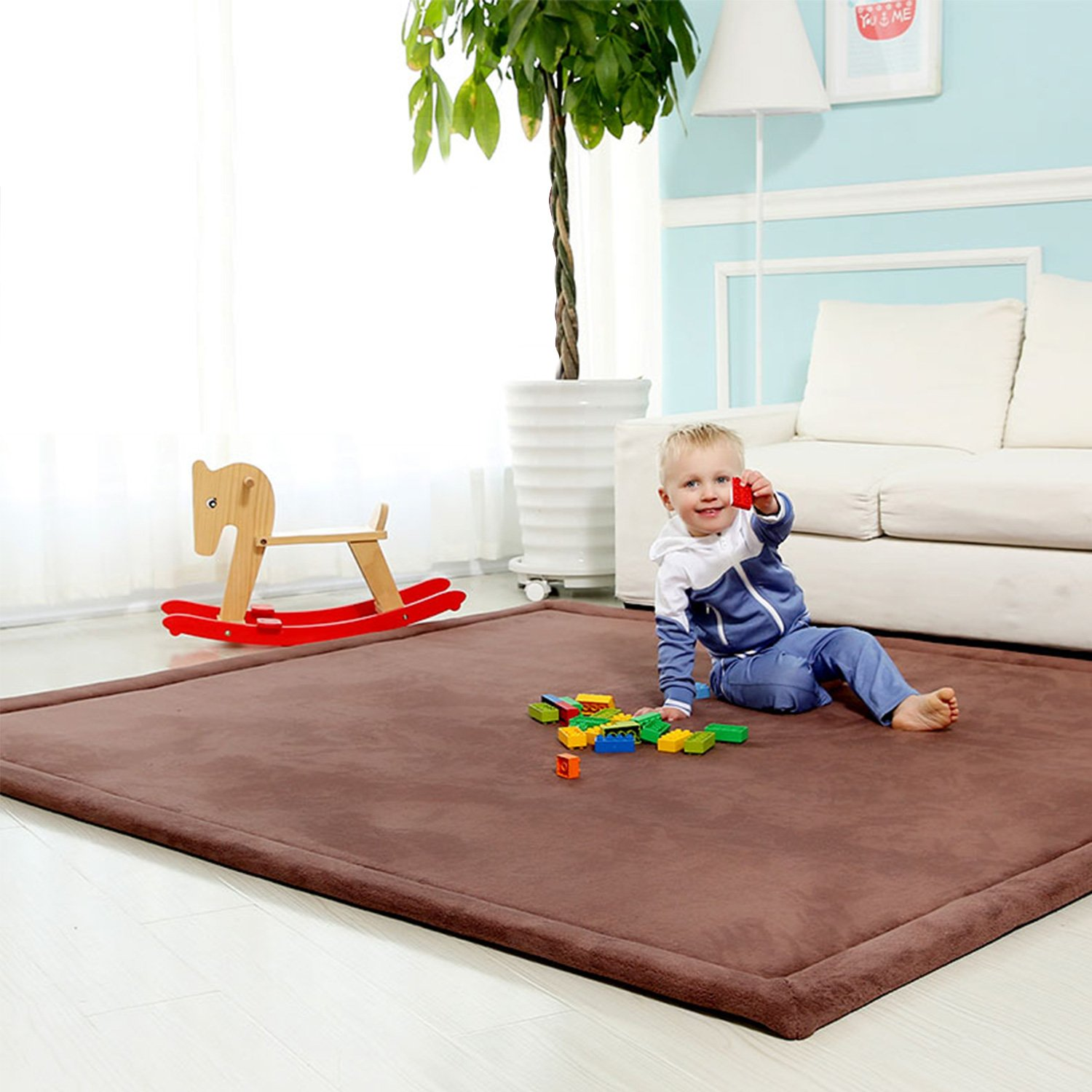 Mother & Kids Multifunction 0-12 Months Baby Play Mats 3 In 1 Cartoon Baby Kids Rug Floor Mat Game Play Comfortable Lovely Boy Girl Carpet Consumers First