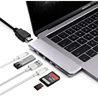 MINIX NEO C-D, USB-C Multiport Adapter for MacBook Pro [Only Compatible with Apple MacBook Pro]. Sold Directly by MINIX® Technology Limited. (Space Grey)