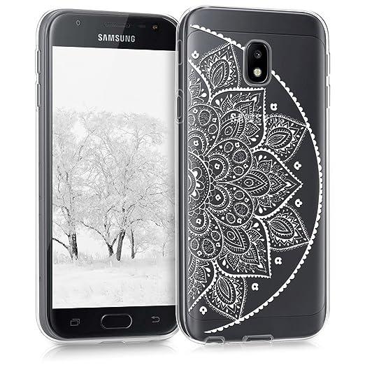 6 opinioni per kwmobile Cover per Samsung Galaxy J3 (2017) DUOS- Custodia in silicone TPU- Back