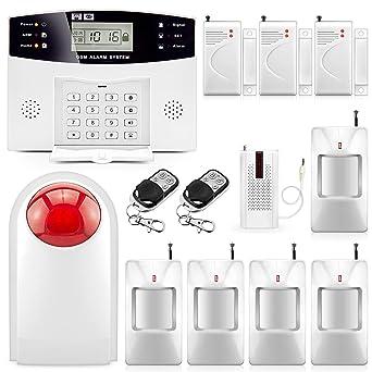 FUERS DP500 Sistema de Alarma de Seguridad para el Hogar GSM ...