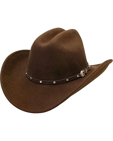 f054f374cd3 Silverado Men s Crushable Wool Cattleman Crown Hat - Blakepty at ...