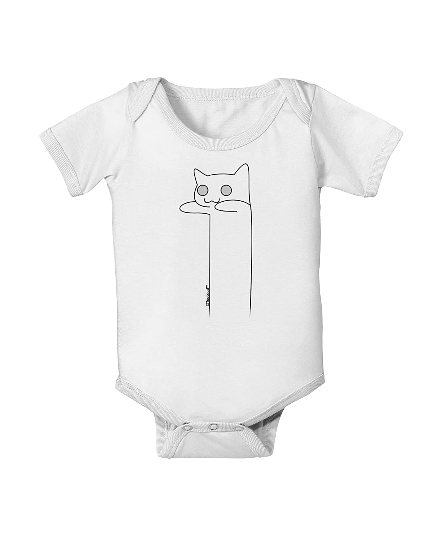 TooLoud Longcat Internet Humor Baby Romper Bodysuit