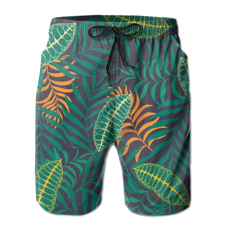 Beach Shorts Stationary Sea Ship Mens Ultra-Light Swim Trunks Holiday Board Pants