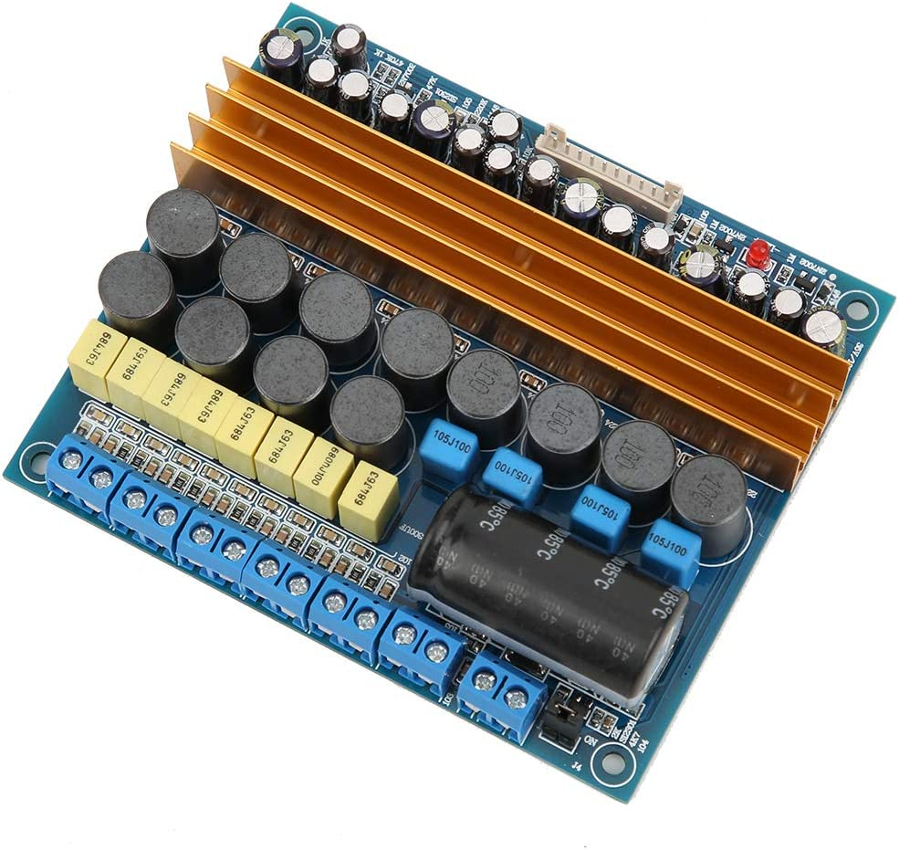 with Simple Installation for Store Home Digital Power Amplifier Board AMP Module Audio Accessory 5.1 Sound-Channel TPA3116 Class D Subwoofer Amplifier Board Speakers Square Theater