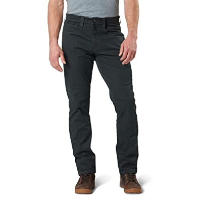 5.11 Tactical Men's Defender-Flex Slim Pants, Twill Poly-Cotton, Outdoor Casual Bottom, Style 74464: Clothing