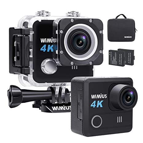 akaso 4k wifi sport action camera subacquea  Action Cam 4K WIFI Fotocamera Subacquea Impermeabile HD 20MP Action ...