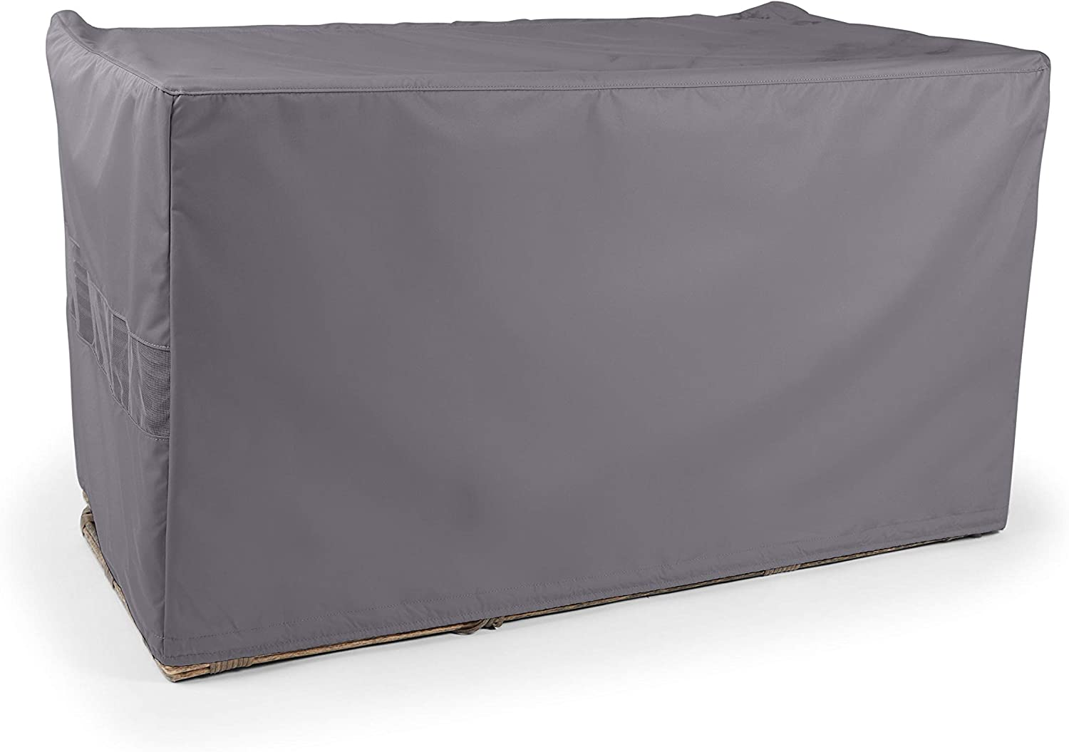 Covermates Modular Sectional Sofa Cover – Heavy Duty Material, Water and Weather Resistant, Patio Furniture Covers - Charcoal