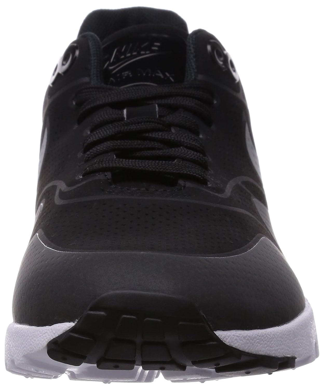 nike donne svart slvr air max / 1 'ultra essenziale delle scarpe da corsa