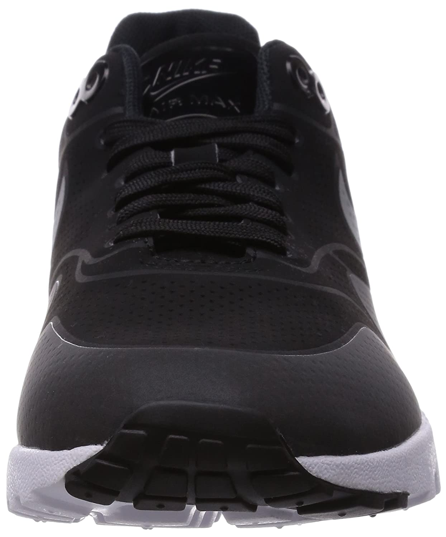 Nike – Wmns Air Max 1 Ultra Moire Womens Shoes BlackBlack Mtllc Silver White