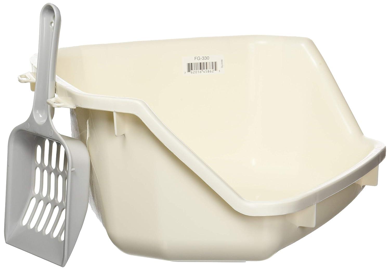 IRIS Small Animal Litter Pan White