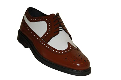 9c05d2a36a3 Brentano Brown and White Wingtips 1920s-1930s Vintage Style All ...