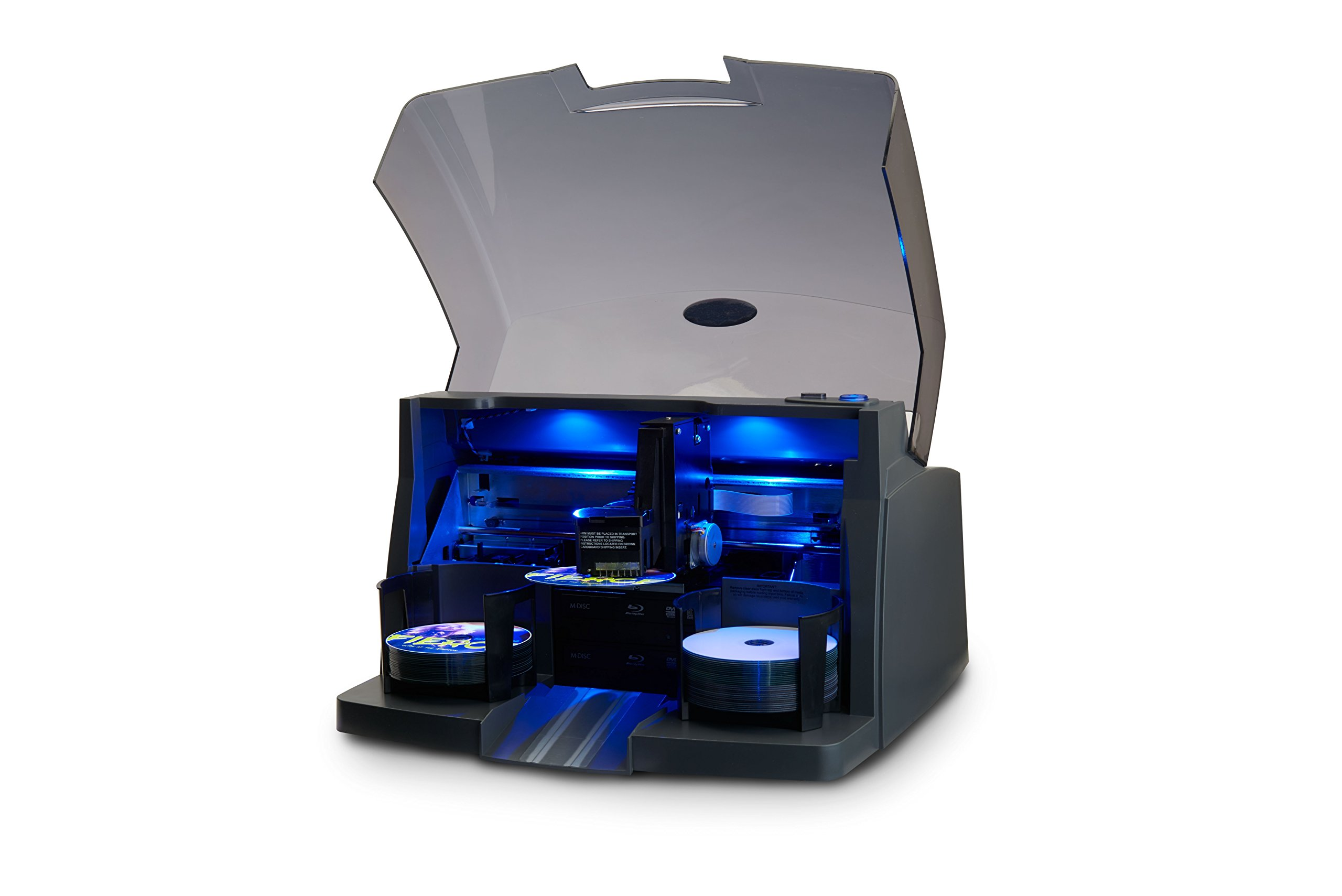 Primera Bravo 4201 Disc Duplicator and Printer - Automatically Copy and Print CDs and DVDs. New Model. by Primera Technology (Image #2)