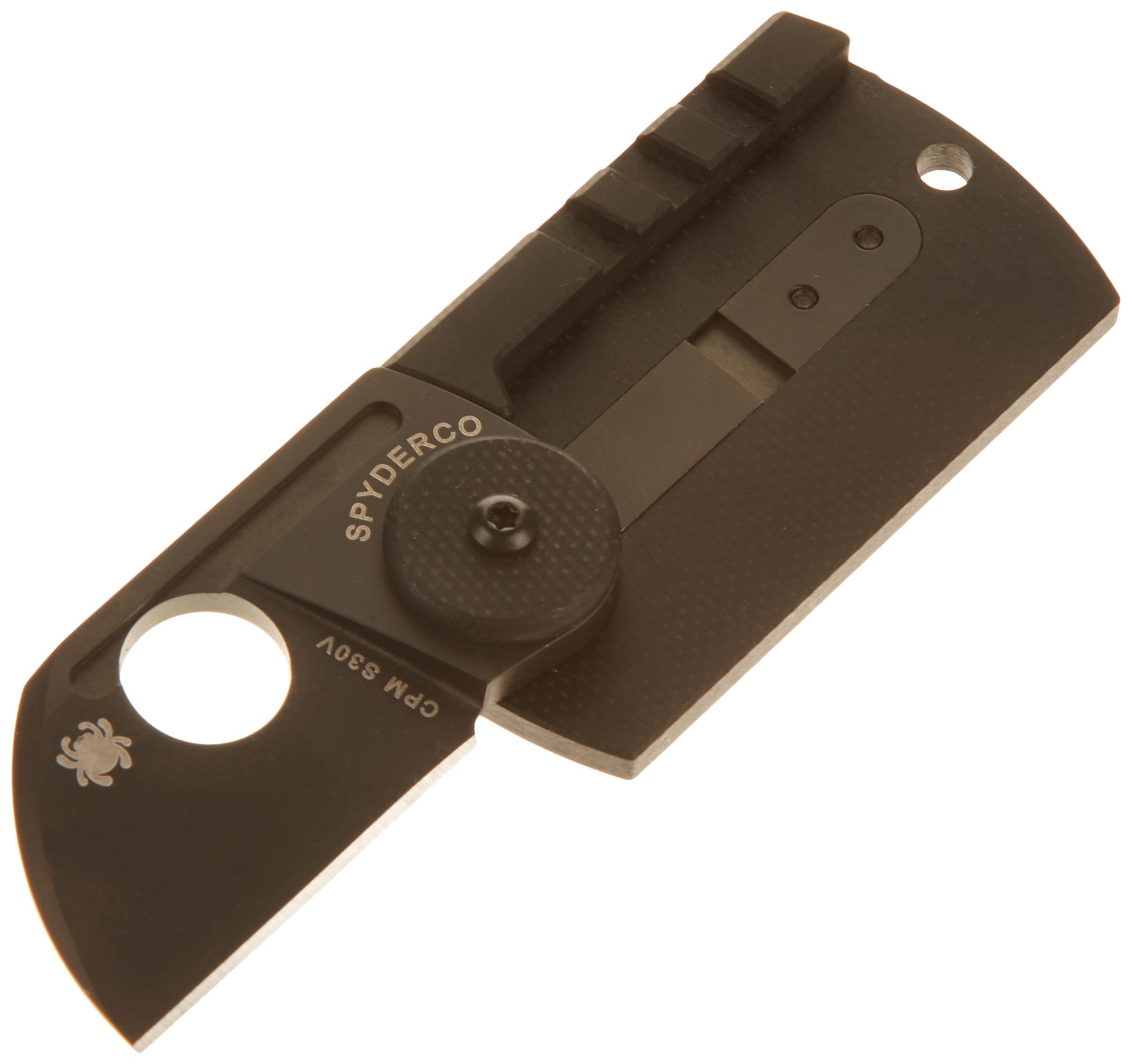 Spyderco Dog Tag Plain Edge Folder with 1.23'' Blade by Spyderco (Image #2)