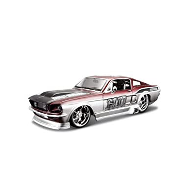 Tobar 1:24 Scale 1967 Ford Mustang Gt with Harley Davidson Branding Vehicle: Toys & Games