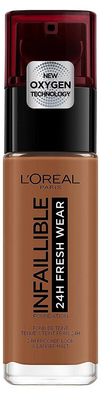 L 'Oréal Paris infaillible 24h Fresh Wear de maquillaje en nº 355Sienna, gran fuerza de Deck, langanhaltend, impermeable, transpirable, 30ml L' Oréal Paris A96640