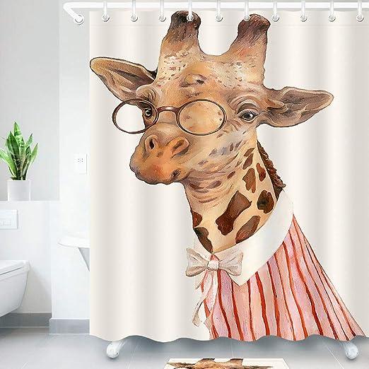 Shower-YJ Cortinas De BañO Impermeable Y Resistente Al Moho ...