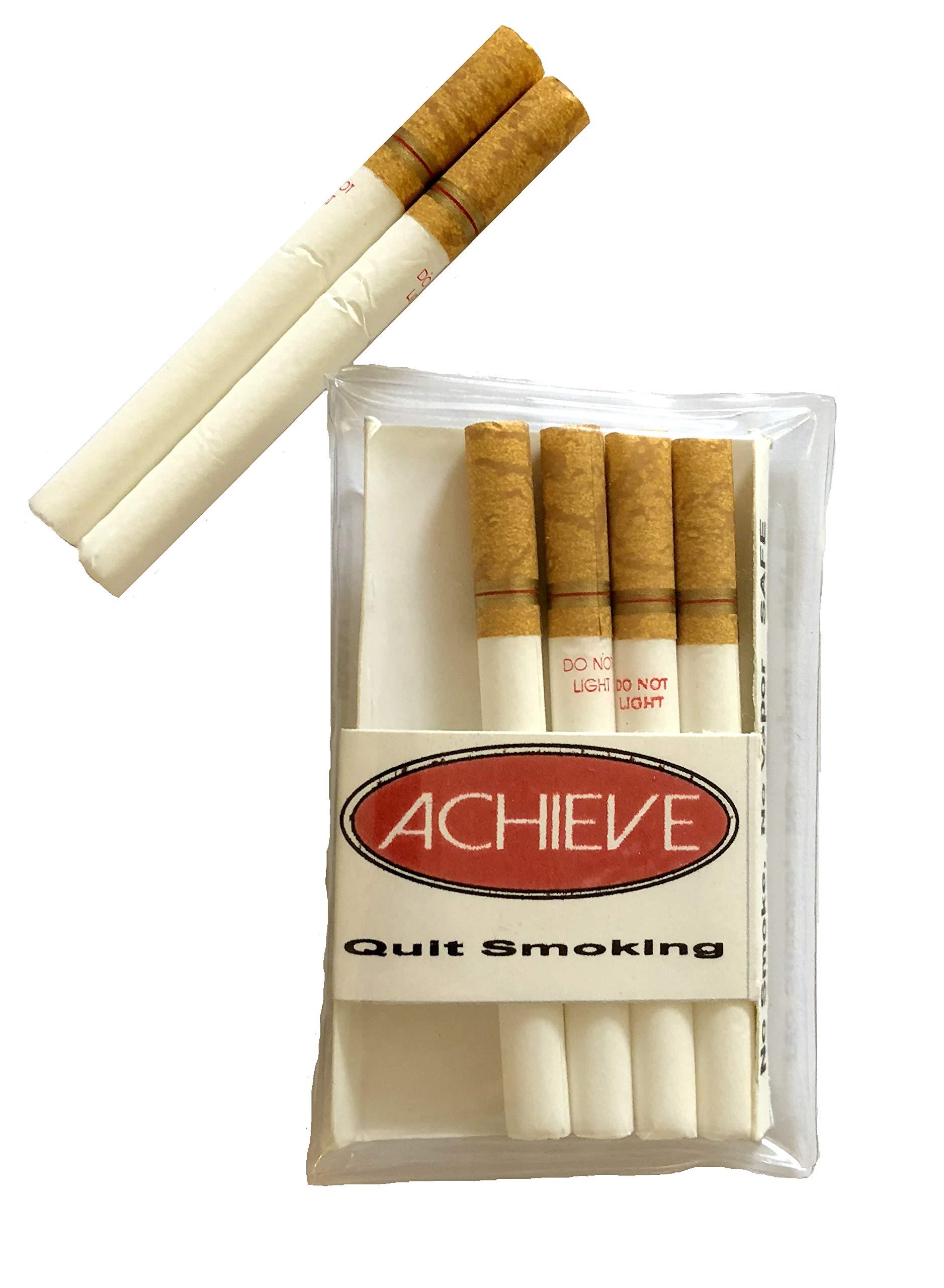 Smoking fake cigarette