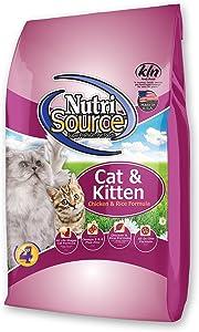 Tuffy'S Pet Food 131542 Nutri Cat/Kitten Chicken/Rice Dry Food, 1.5-Pound