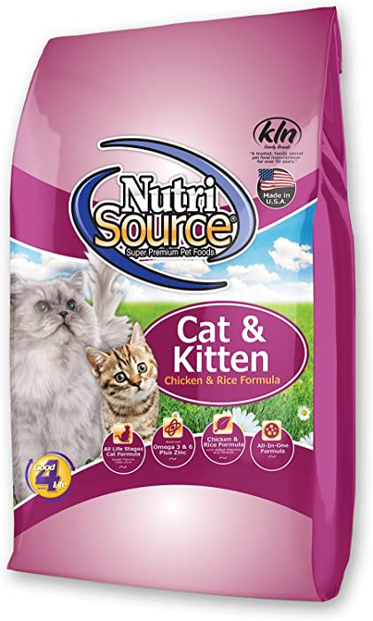 Top 10 Nutrasourse Cat Food