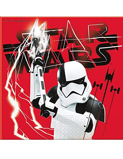 ALMACENESADAN 2530; Pack 20 servilletas Disney Star Wars ...