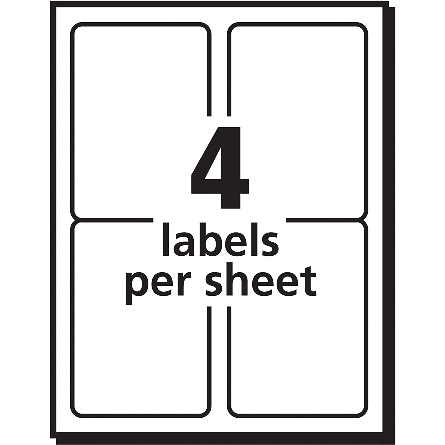 Amazon avery postage meter labels 1 12 x 2 34 pack of amazon avery postage meter labels 1 12 x 2 34 pack of 160 5288 office products pronofoot35fo Gallery