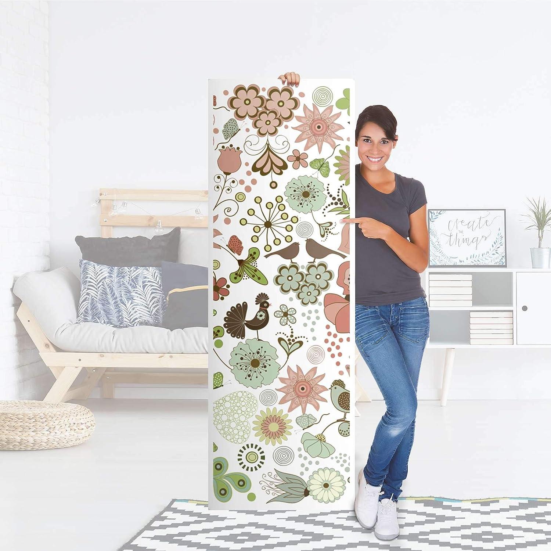 creatisto Fridge 60x80 cm I Art Decor Sticker Kitchen Decor Self Adhesive Sticker I Various Designs Removable