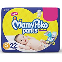 MamyPoko Pants Standard Style Small Diapers (22 Count)