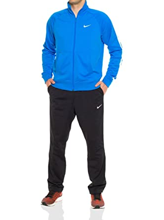 Nike Season Poly Knit TRK Suit Chándal, Hombre, Azul (Photo Blue ...