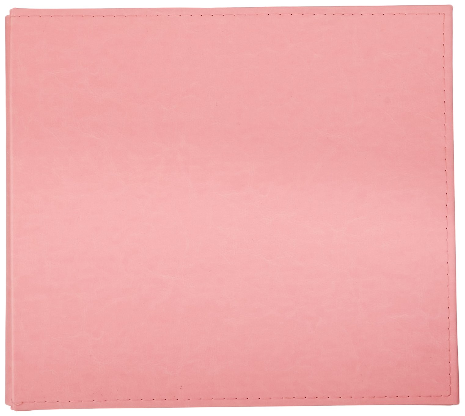 We R Memory Keepers Classic Leather Post Album, 12 by 12-Inch, Pretty Pink