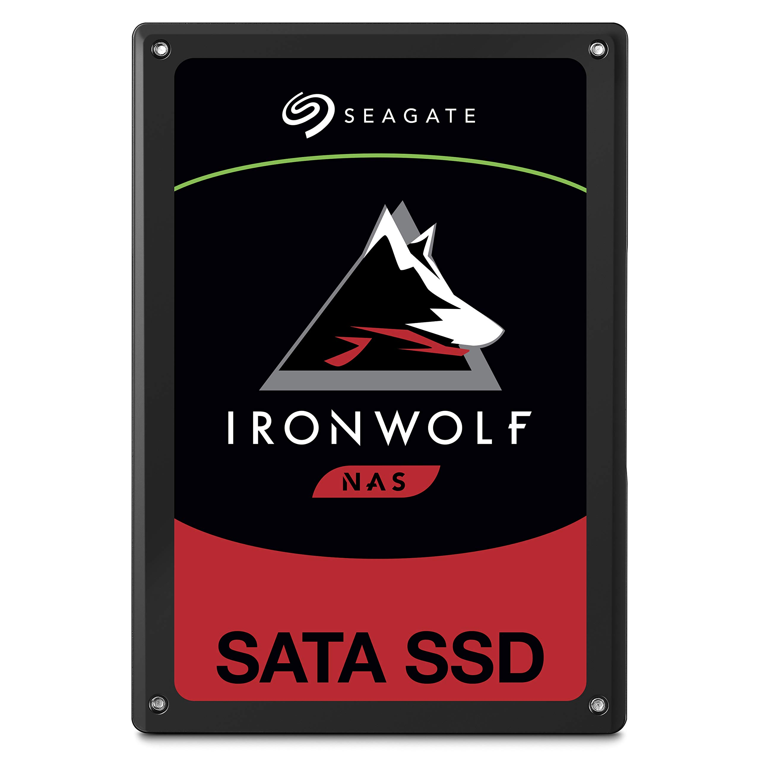 Seagate IronWolf 110 240GB NAS SSD Internal Solid State Drive - 2.5 inch SATA Multibay RAID System Network Attached Storage, 2 Year Data Recovery (ZA240NM10001) by Seagate