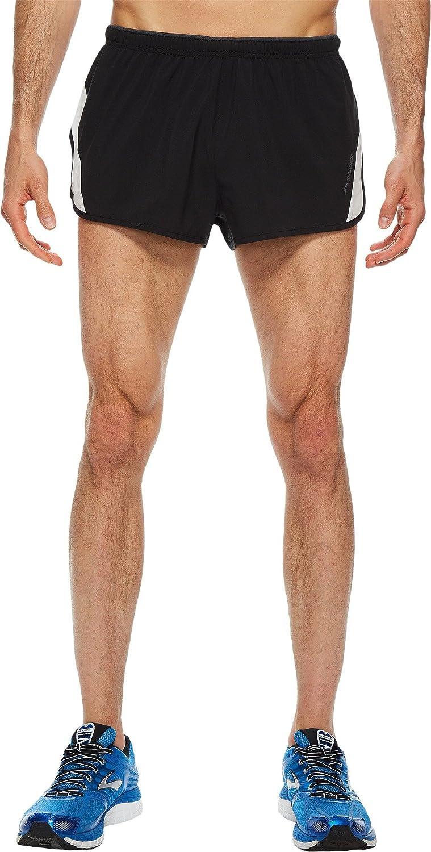 Brooks Mens Go-to 2 Split Shorts