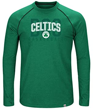 "Majestic Boston Celtics NBA ""hit tri-blend de la marca de los hombres"