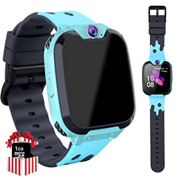 YENISEY Kids Smartwatch Game Music Toys - 7 Games Children Touch Screen Wrist Watch Phone with SOS Call Camera Music Player Calculator 12Hrs Learning ...