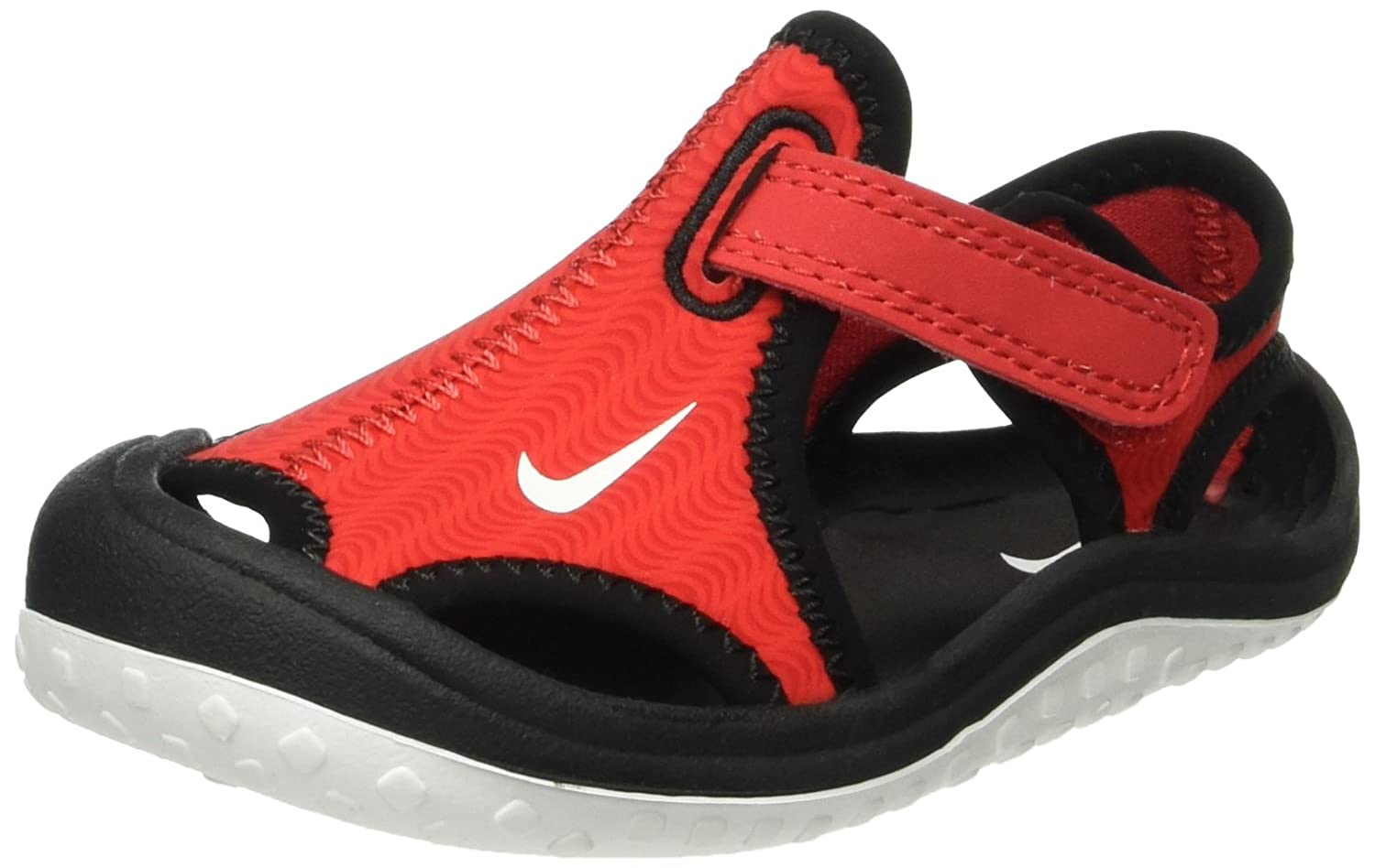 nike red sunray protect 2 sandals toddler