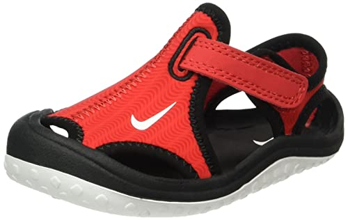 b09a12f8b73f Nike Sunray Protect (TD) Infant Toddler Boys  Sandal  344925-602 (9c) Red   Buy Online at Low Prices in India - Amazon.in