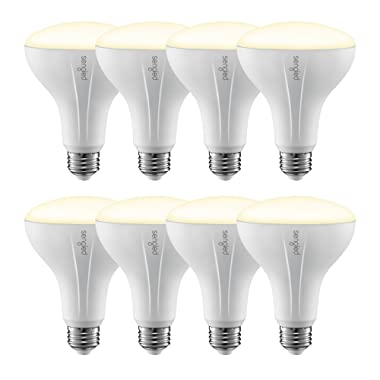 Sengled Smart LED Soft White BR30 Light Bulb, Hub Required, 2700K 65W Equivalent, Works with Alexa, Google Assistant & SmartThings, 8 Pack