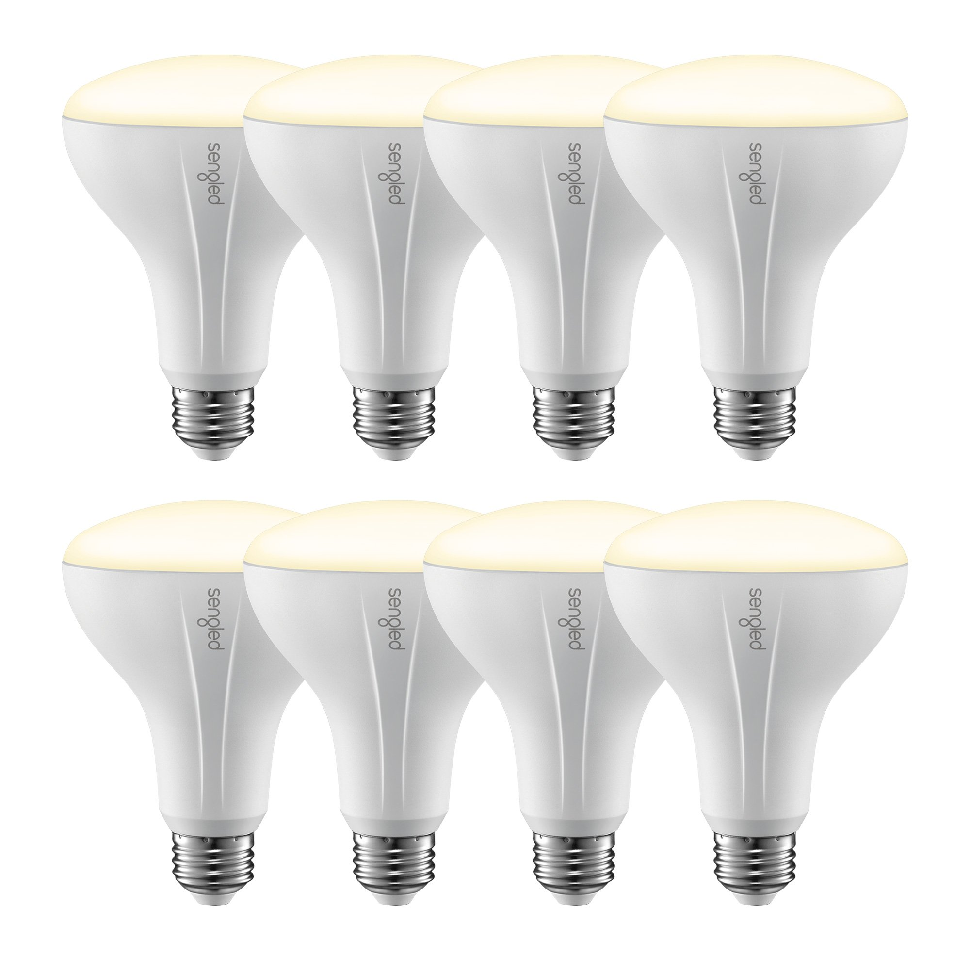 Sengled Element 8-Pack Smart Bulbs BR30 Dimmable Bulbs, Compatible with Samsung SmartThings Hub, Wink Hub and Echo Plus, Works with Alexa and Google Assistant(Hub Required), 3 Year Warranty
