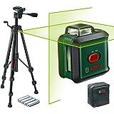 Bosch Kombilaser UniversalLevel 360 med stativ (grön laser, arbetsområde: upp till 24 m, precision: ± 0,4 mm/m…
