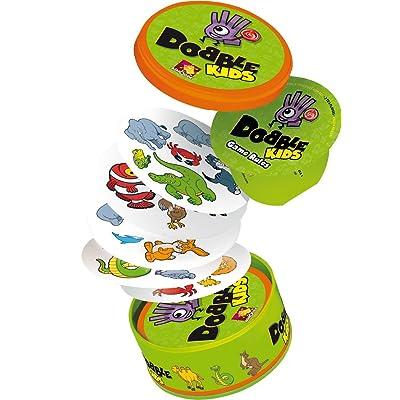 Asmodée - Dobble Kids (versión Inglesa): Juguetes y juegos