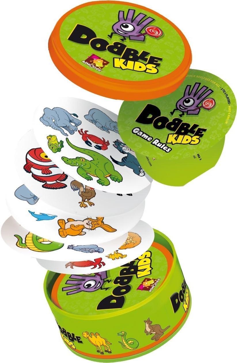 Amazon.com: Asmodee – Dobble niños juego: Toys & Games